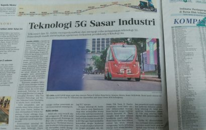 Tehnologi 5G Sasar Industri